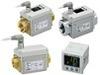 SMC 電磁式デジタルフロースイッチ LFEシリーズ